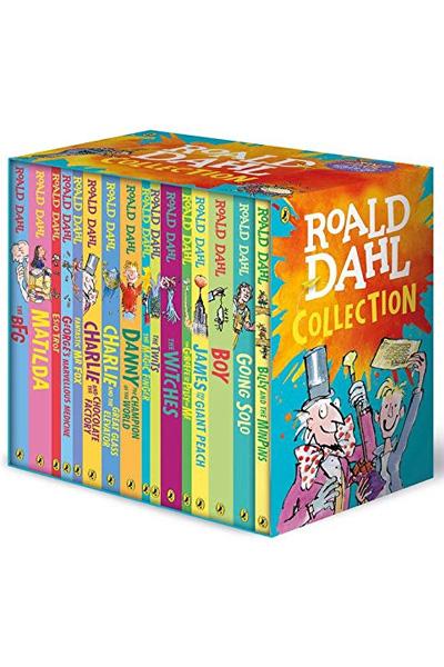 Roald Dahl Complete Collection (16 vol set)
