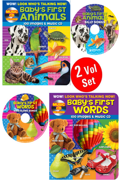 Wow! Look Who's Talking Now! Series (2 Vol Set) Board Book