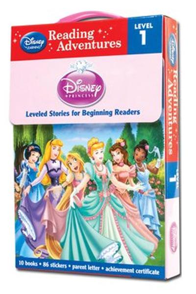 Disney Princess Reading Adventures Level 1 Boxed Set