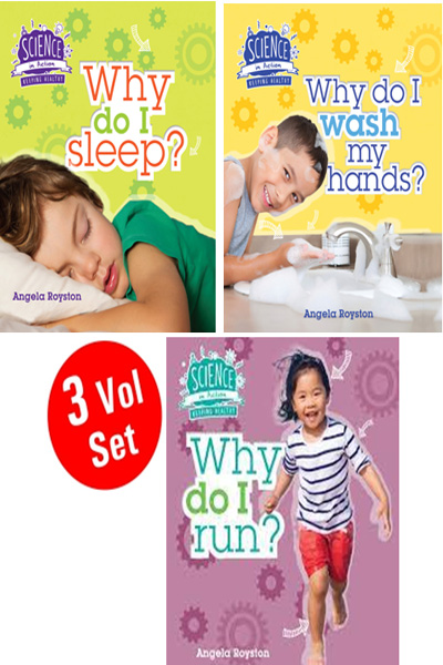 Science In Action Series (3 Vol Set)