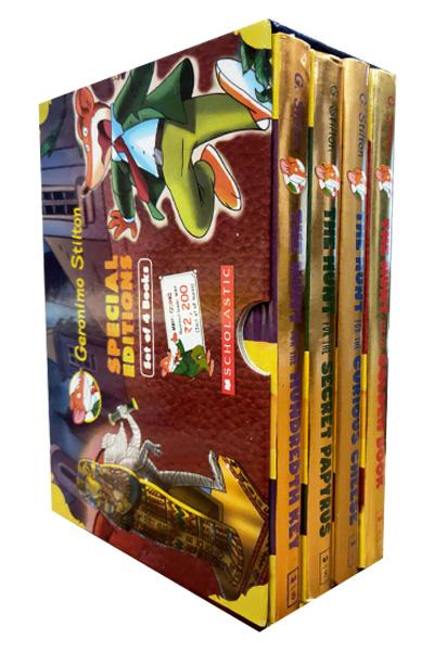 Geronimo Stilton: The Hunt Series (4 Vol Set)
