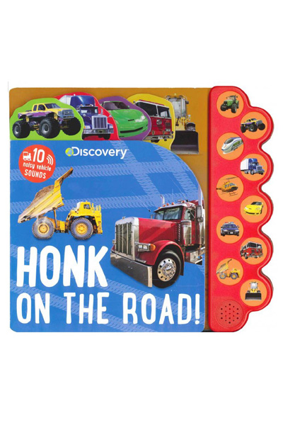 Honk on the Road! (Discovery Kids) Board Book with Sound