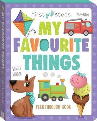First Steps - My Favourite Things - Board Book