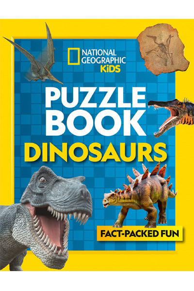 Puzzle Book Dinosaurs