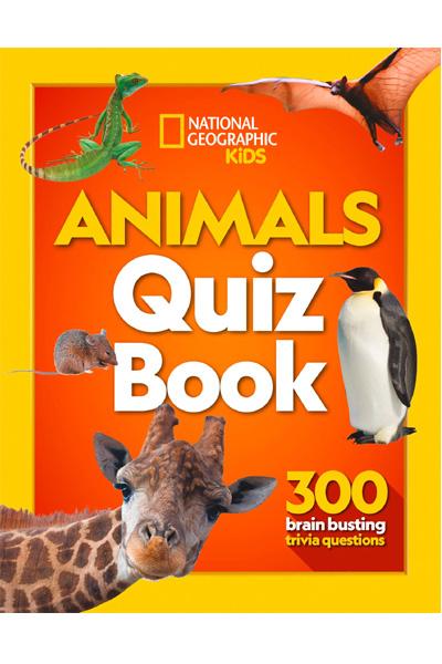Animals Quiz Book: 300 Brain Busting Trivia Questions