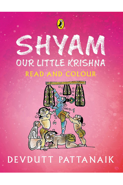 Shyam - Our Little Krishna (Read and Colour)