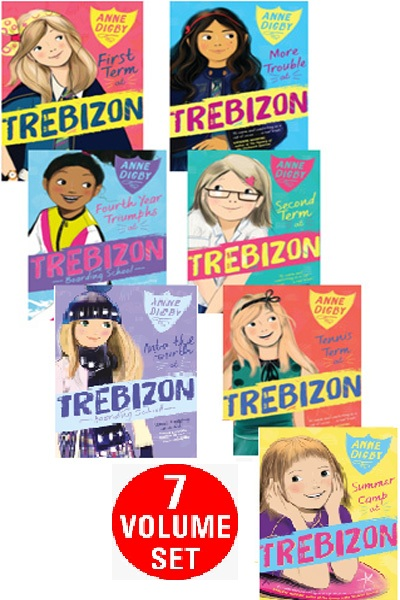 Trebizon Boarding School Series (7 Vol Set)