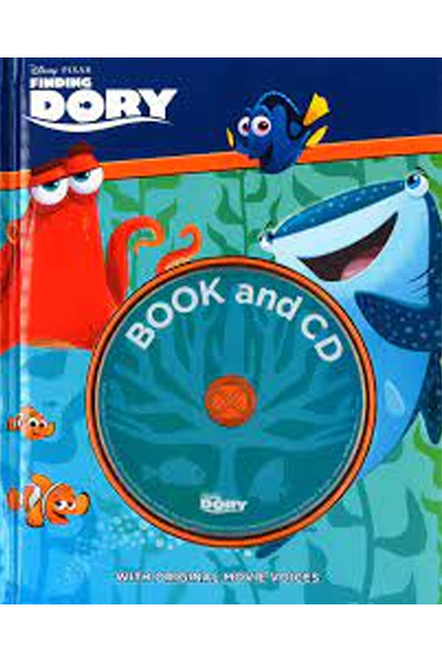 Disney Pixar Finding Dory Book and CD: With Original Movie Voices