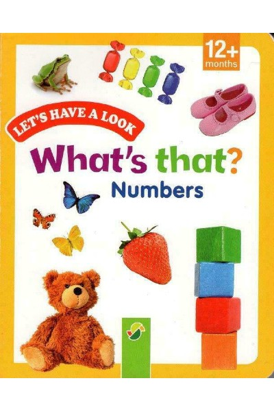 What's That? Numbers (Board Book)