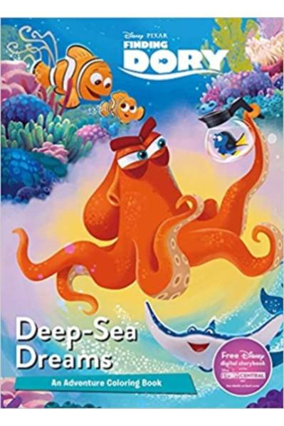 Disney Pixar : Finding Dory - Deep-Sea Dreams (An Adventure Colouring Book)