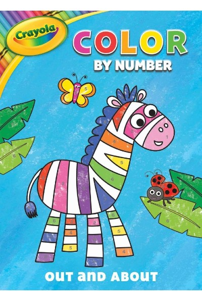 Crayola Out and About: Color by Number