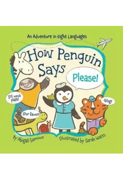 How Penguin Says Please! (Board Book)