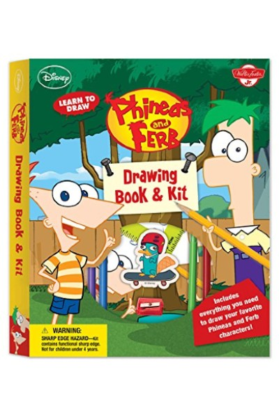 Learn to Draw Disney's Phineas and Ferb (Drawing Book & Kit)