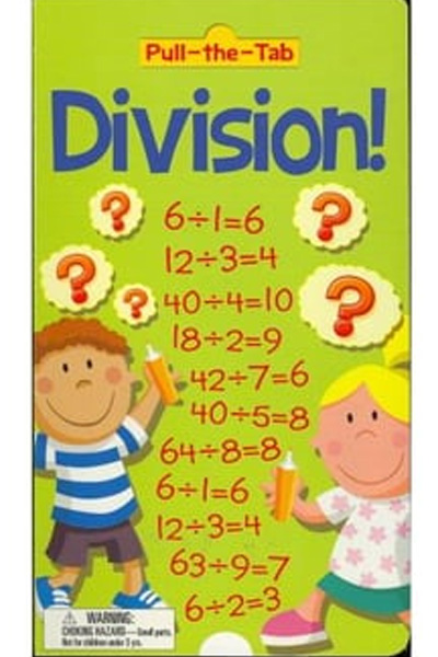 Division: Pull the Tab (Board Book)