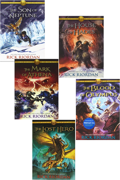 Heroes Of Olympus Collection (5 Vol Set)
