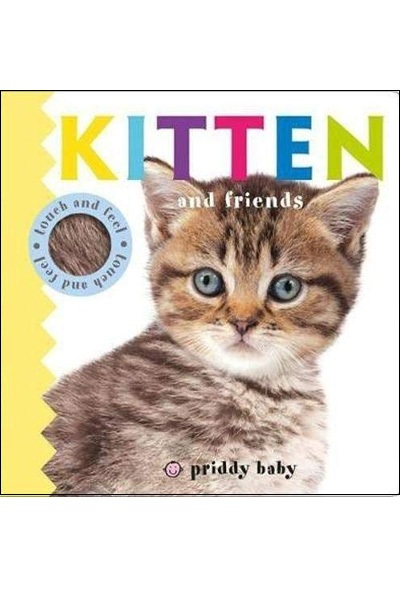 Kitten and Friends: Touch & Feel : Board Book