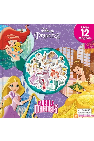 Disney Princess: Bubble Magnets