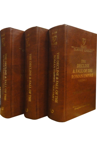 Decline & Fall of the Roman Empire (3 Vol. Set)