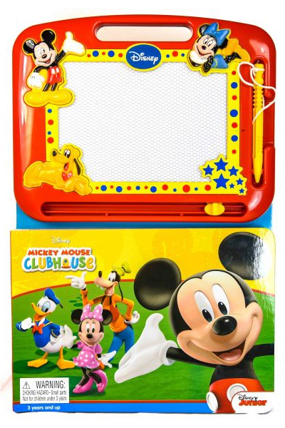 Disney Mickey Mouse Clubhouse: Learning Book with Magnetic Drawing Pad