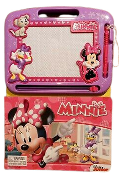 Disney Minnie Mouse Storybook & Magnetic Drawing Kit