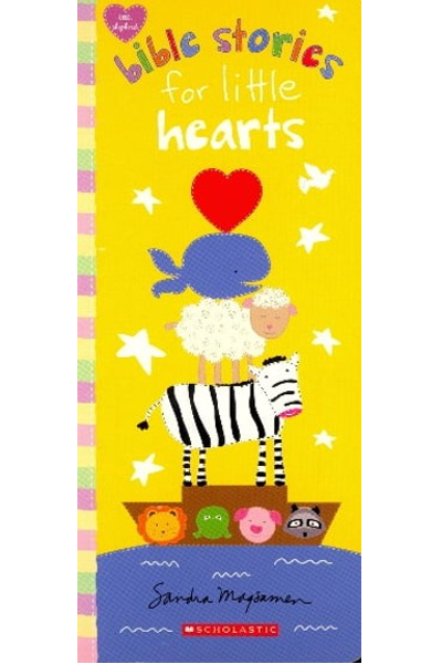 Bible Stories For Little Hearts (Board Book)