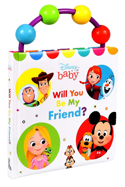 Disney Baby: Will You Be My Friend? (Board Book)