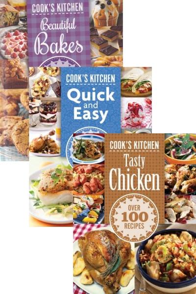 Cook's Kitchen Series 1 (3 Vol. Set)