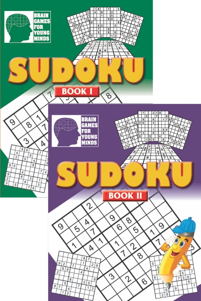 Brain Games for Young Minds: SUDOKU Series (2 Vol. Set)