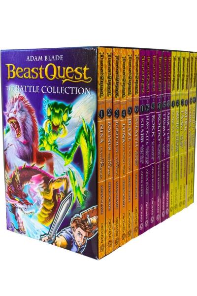 Beast Quest: The Battle Collection: 18 Books Box Set