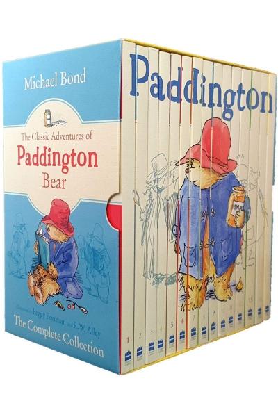 The Classic Adventures Of Paddington Bear (15 Vol. Set)