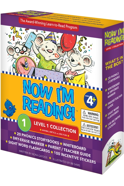 Now I'm Reading: Level 1 Collection