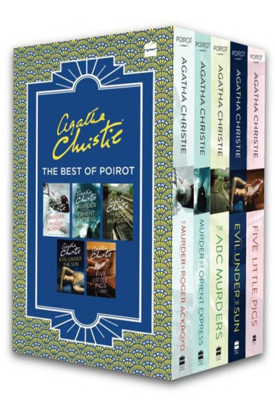 Agatha Christie: Best of Poirot: The Murder of Roger Ackroyd- Murder on the Orient Express- ABC Murders -Evil Under the Sun - Five Little Pigs