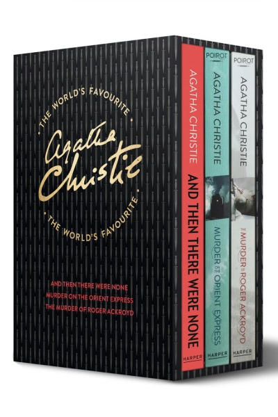 Agatha Christie 3 volume set : a) And Then There Were None b) Murder on the Orient Express c) The Murder of Roger Ackroyd