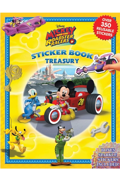 Disney Mickey and Roadster Racers Sticker Book Treasury