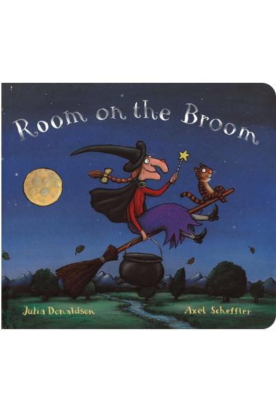 Room on the Broom - Board Book