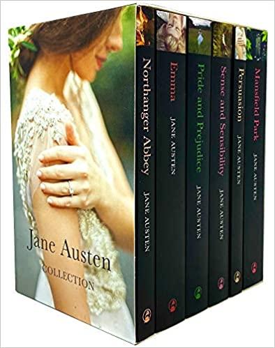 Jane Austen Complete 6 Books Collection Box Set