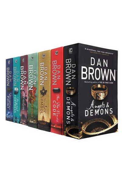 Dan Brown Complete Collection (7 Books Set)