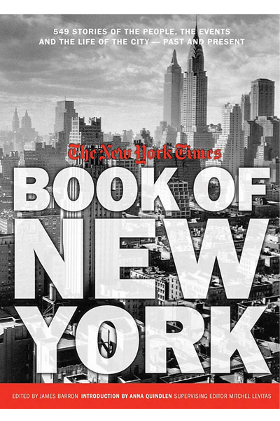 The New York Times Book Of New York