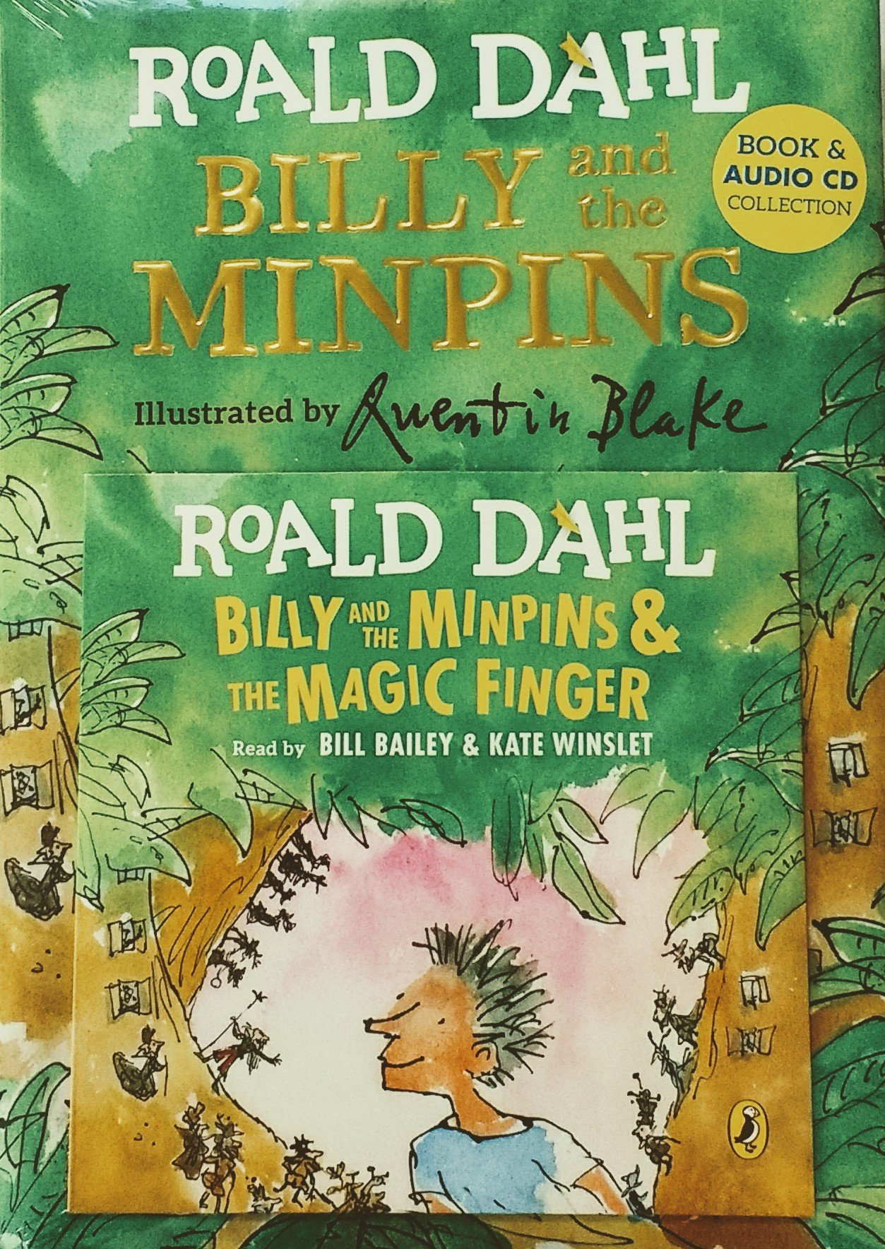 Billy and the Minpins Book & CD