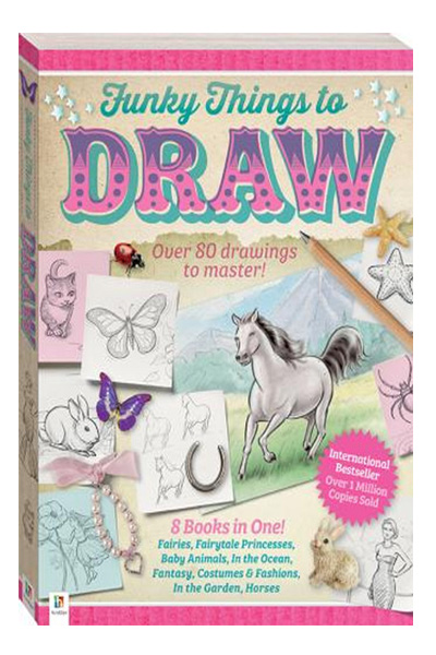 Funky Things to Draw: Flexi-bound