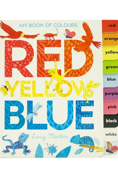 My Book of Colors: Red Yellow Blue
