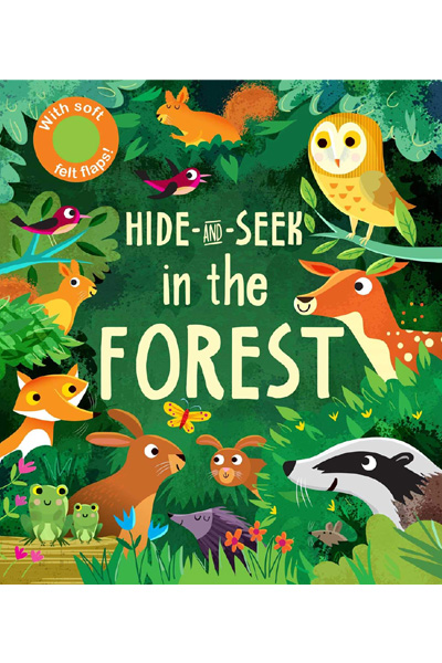 Hide-and-Seek Board Book : In the Forest